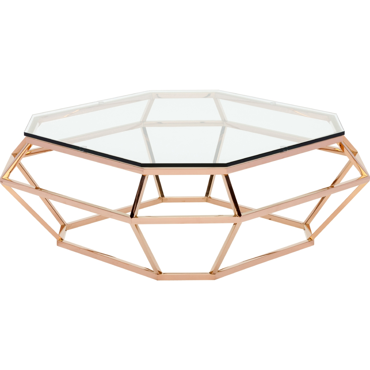 Charles Modern 47 Square Glass Top Coffee Table W: Nuevo Diamond Square Coffee Table Stainless Steel Or Rose