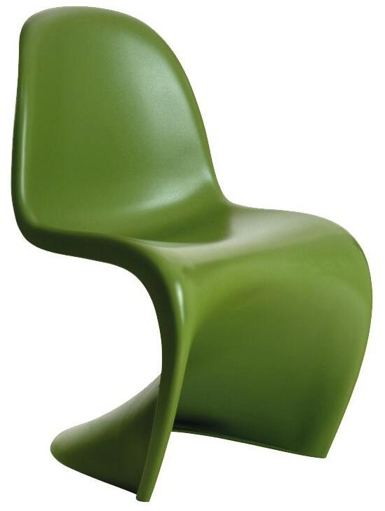 ... Panton S Chair Green ...