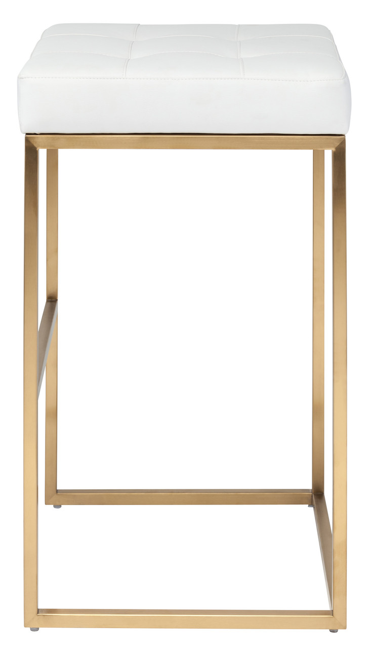 Gold Chi Bar Stool 29 5 Quot Modern Bar Stool