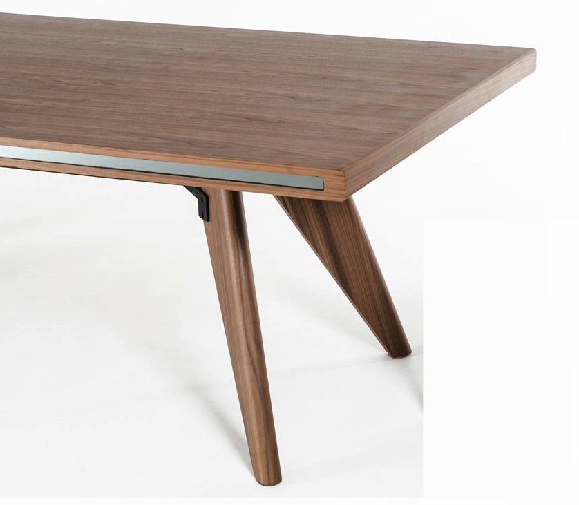 Astro walnut dining table for Astor dining table