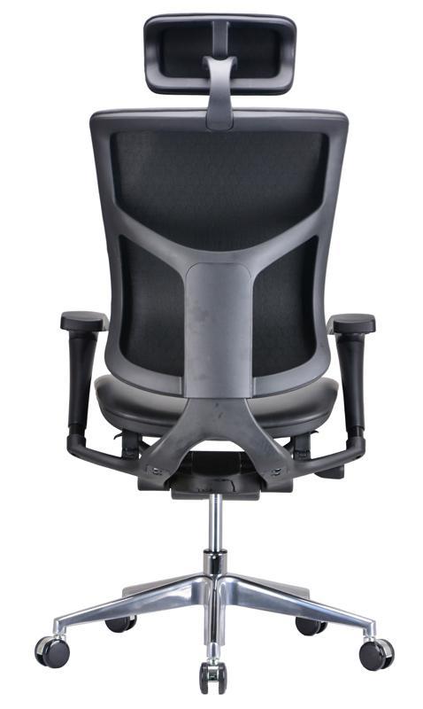 ... Modern Ergo Chair Leather Ergo Office Chair
