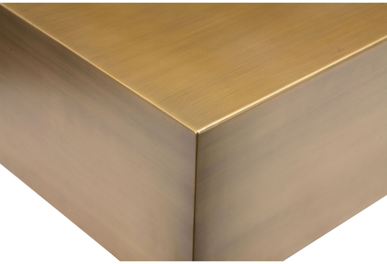 Cube Brass Coffee Table Home And Office Furniture