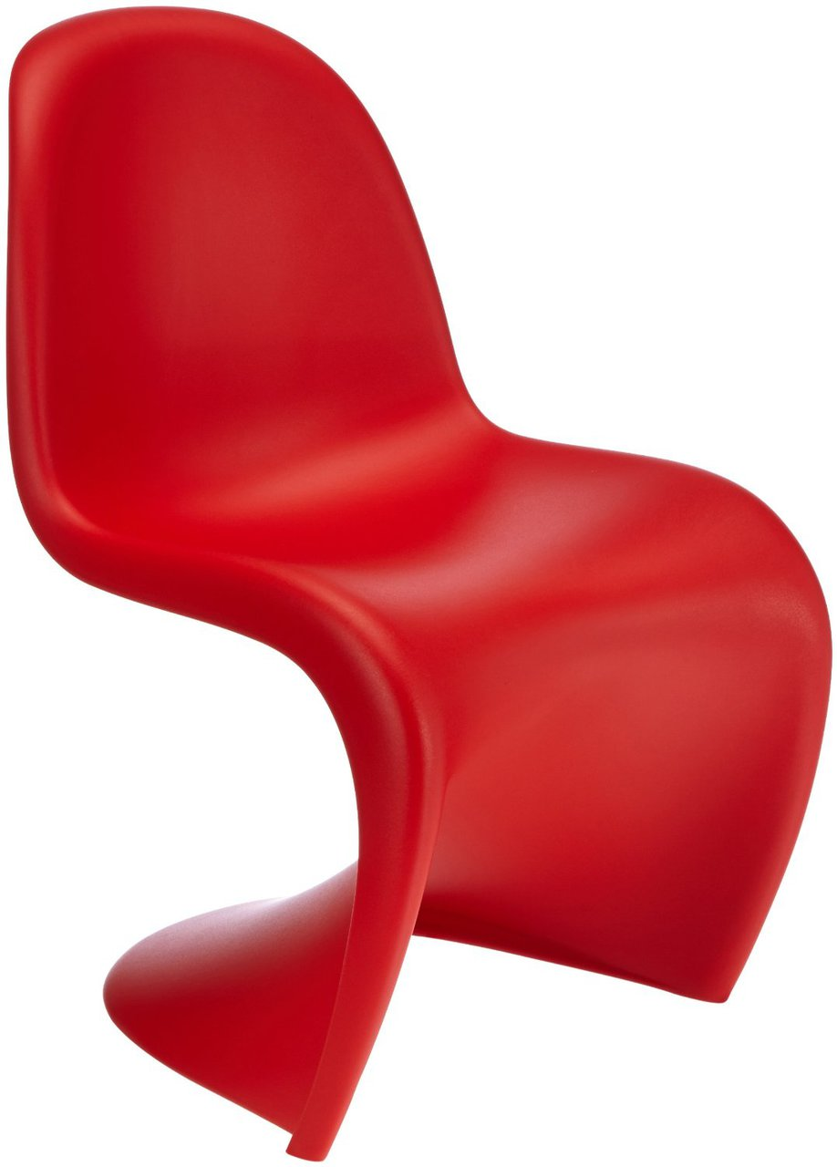 panton s chair red. Black Bedroom Furniture Sets. Home Design Ideas