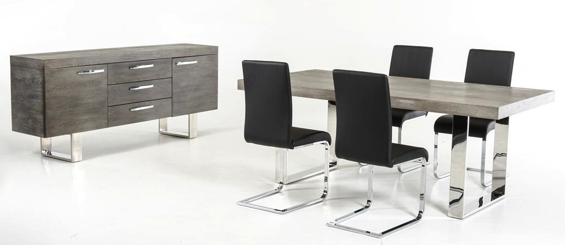 Attrayant ... Herald Dining Set Gray