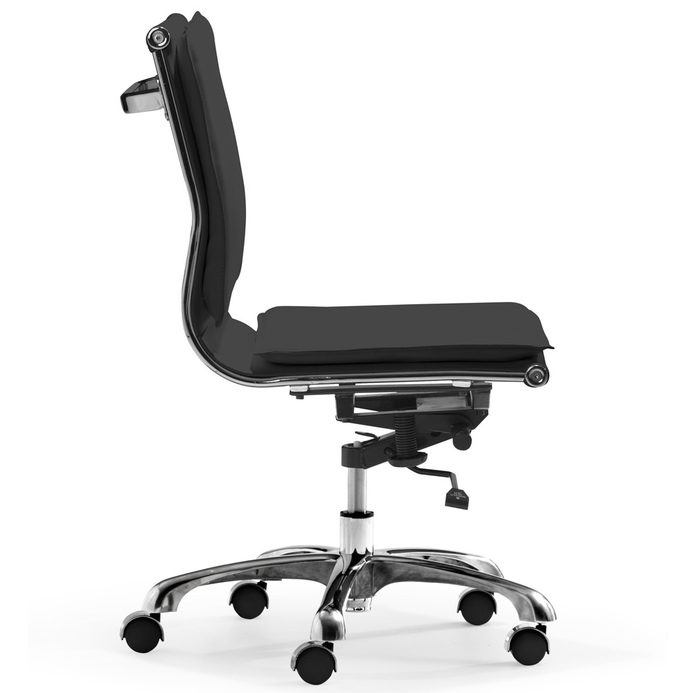 office chair side. Perfect Office Lider Plus Armless Office Chair Intended Side