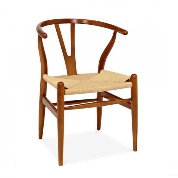 ... Wishbone Chair In Brown ...