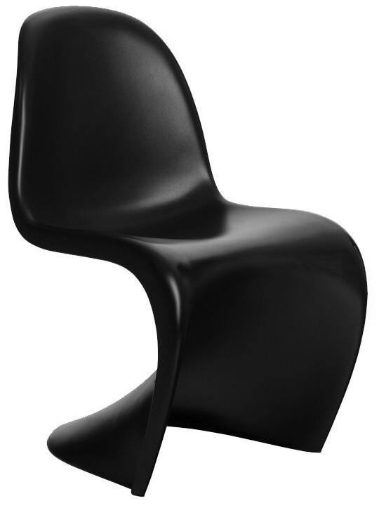 panton s chair red