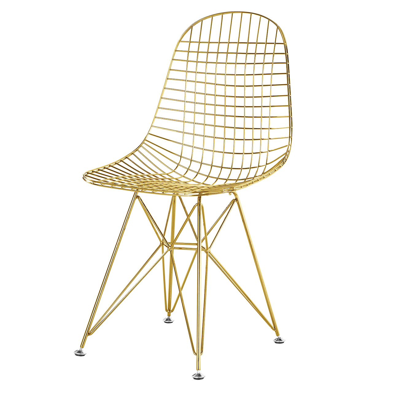 Gold wire chair – Furniture table styles