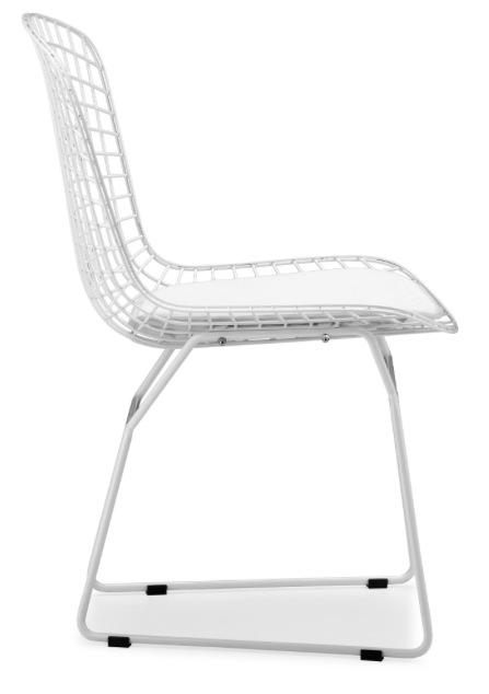 ... Bertoa Side Chair White ...