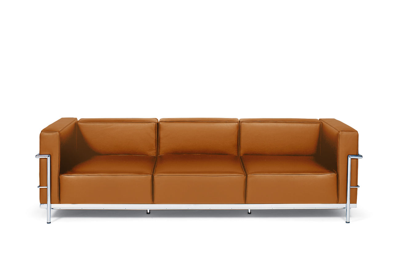 Lc3 grande le corbusier sofa 82 home and office furniture Home design golden city furniture