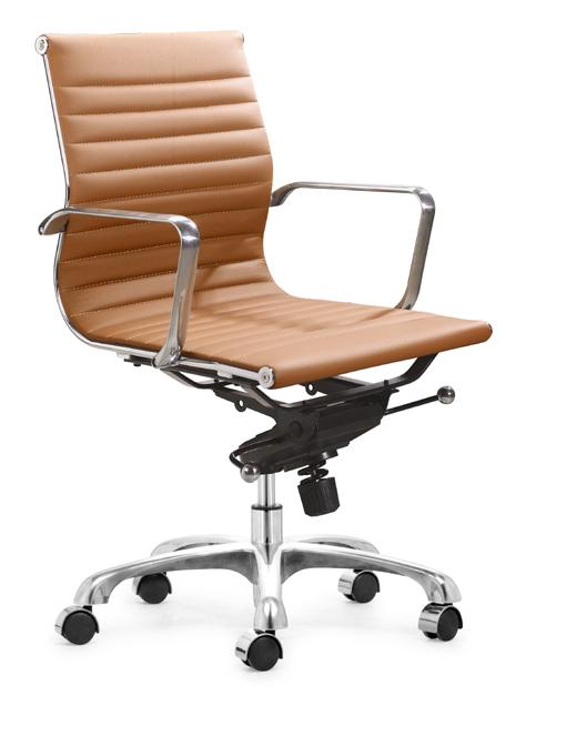 Aluminum Group Management Chair Brown Aluminum Group Management Chair  Terracotta ...