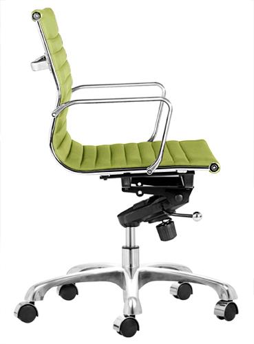 ... Aluminum Group Management Chair Apple Green