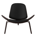 Wegner shell leather seat