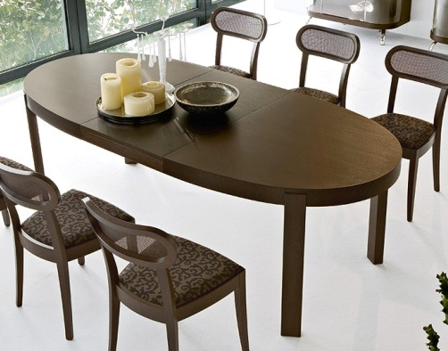 Atelier Oval Extendable Dining Table