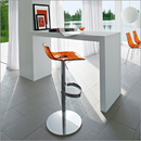 Ice Adjustable Bar Stool