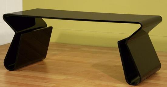 Acrylic Magino Style Coffee Table - Black