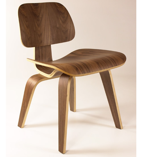 Molded Plywood Dining Chair Natural