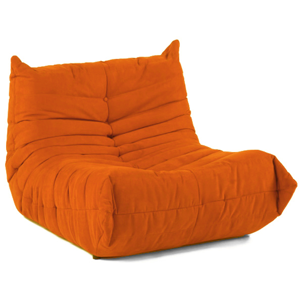 Downlow Chair in Orange