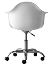 Molded Plastic Office Chair White