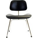 EAMES DINING CHAIR WITH METAL LEGS-WHITE OAK