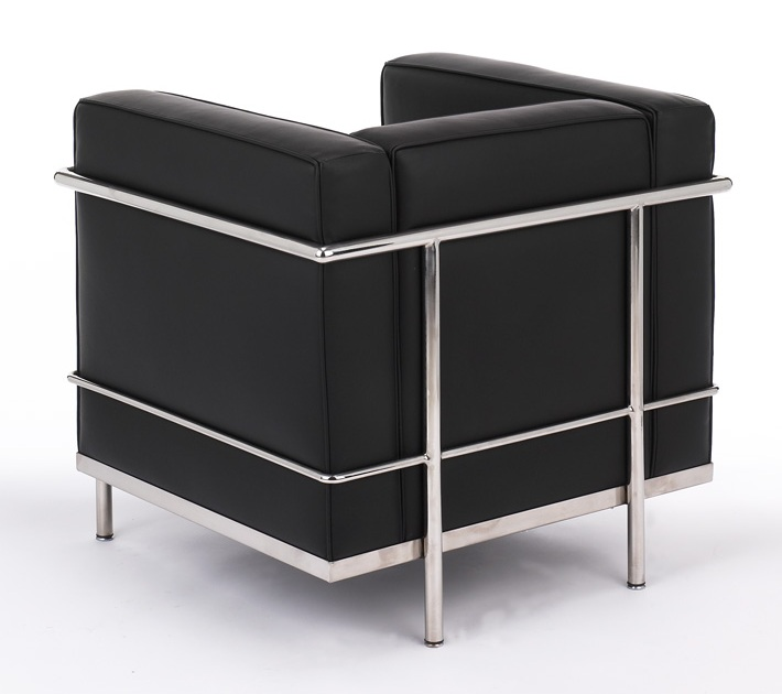le corbusier petit chair lc2 original size. Black Bedroom Furniture Sets. Home Design Ideas