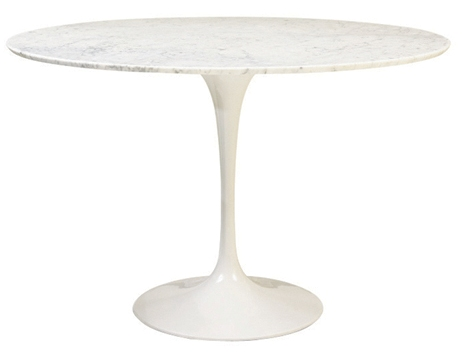 Saarinen Dining Table 48 In Marble