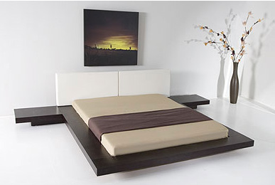 Worth Japanese Style Platform Bed Queen