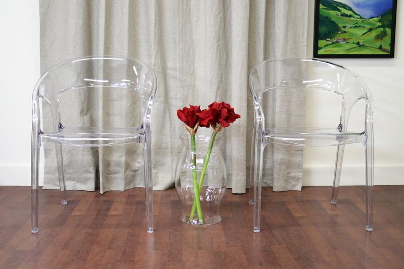 Allegra Acrylic Clear Chair