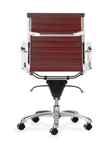 Aluminum Group Management Chair - MAROON
