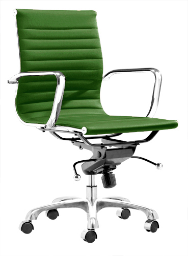 Aluminum Group Management Chair White