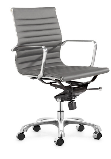 ... Aluminum Group Management Chair Black ...
