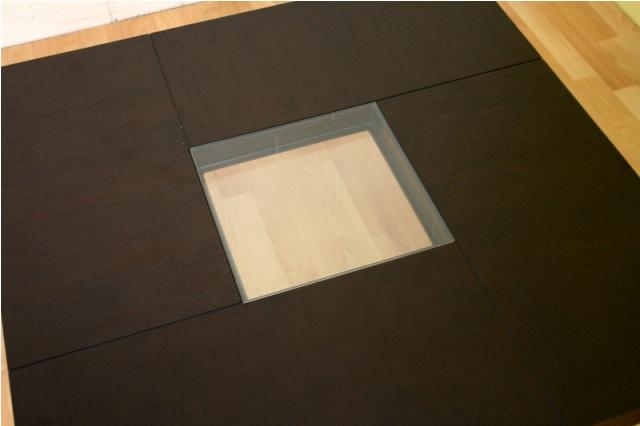 Plaza coffee table for Advance interior designs