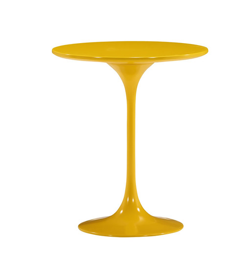 Saarinen Tulip Side Table   Fiberglass