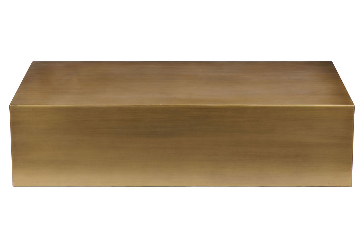 cube brass coffee table - home and office furniture Cube Coffee Table
