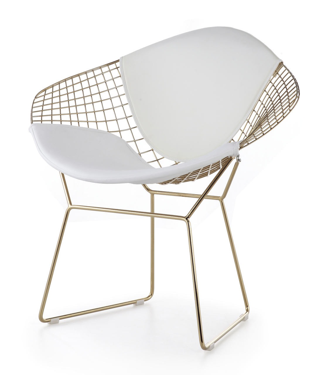 Bertoia Diamond Chair Gold