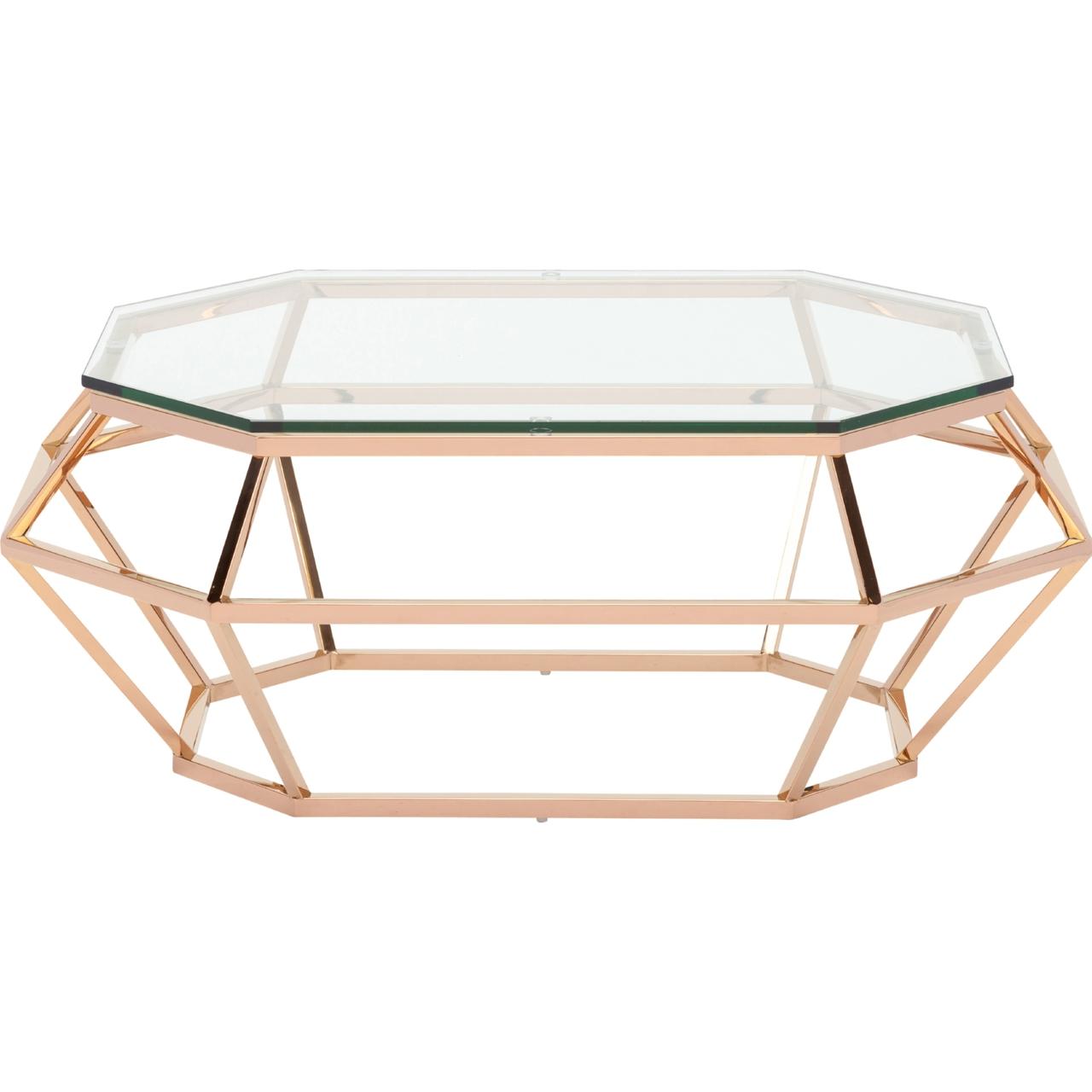Diamond Rectangular Coffee Table By Nuevo Hgsx183 Home