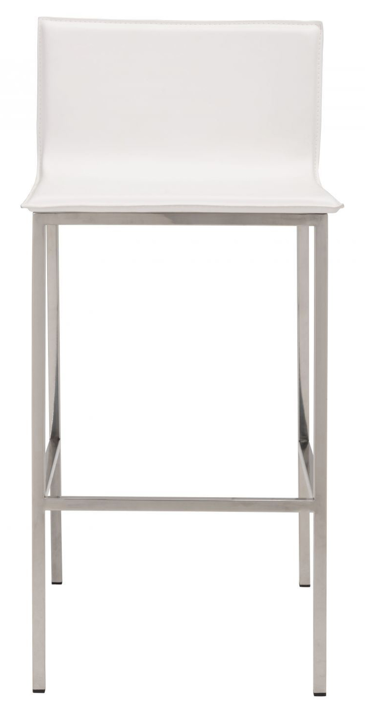 white marina bar stool