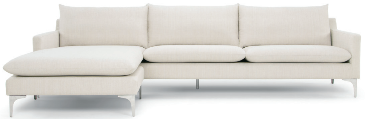 nuevo living anders sectional sofa sand