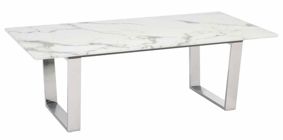 atlas coffee table stone brushed