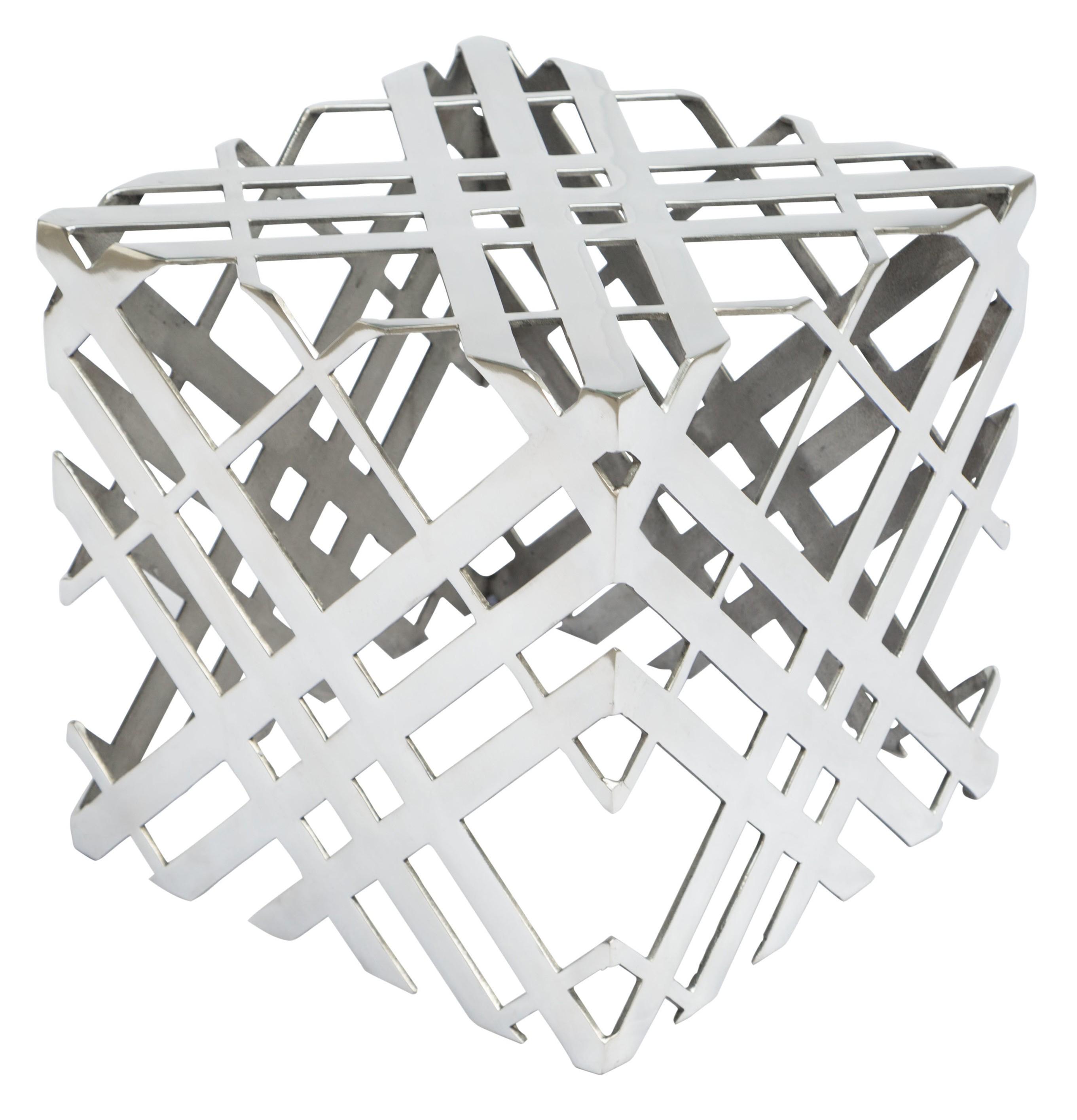 zuo modern carlisle accent table aluminiu.