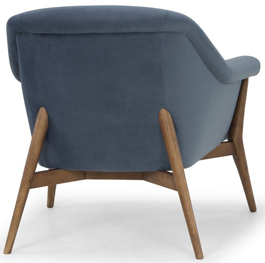 nuevo living charlize occasional chair dusty blue