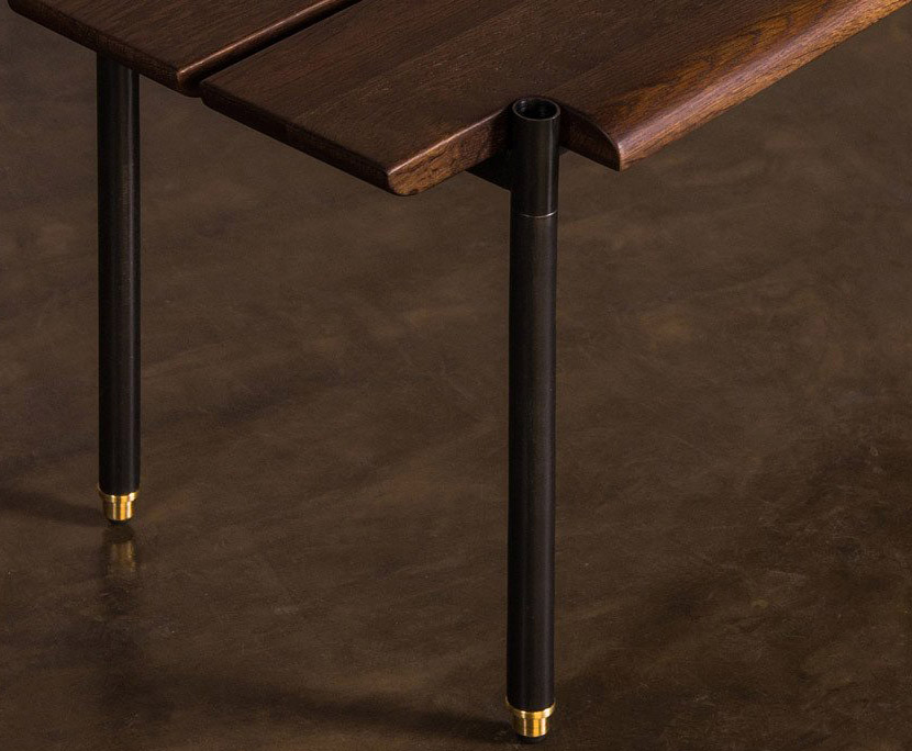 close up shot of nuevo living stacking bench