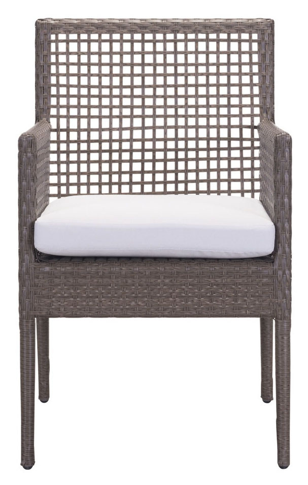 coronado dining chair cocoa light gray