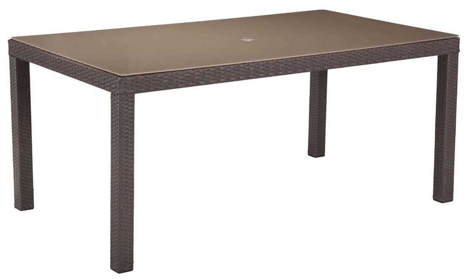 coronado dining table cocoa