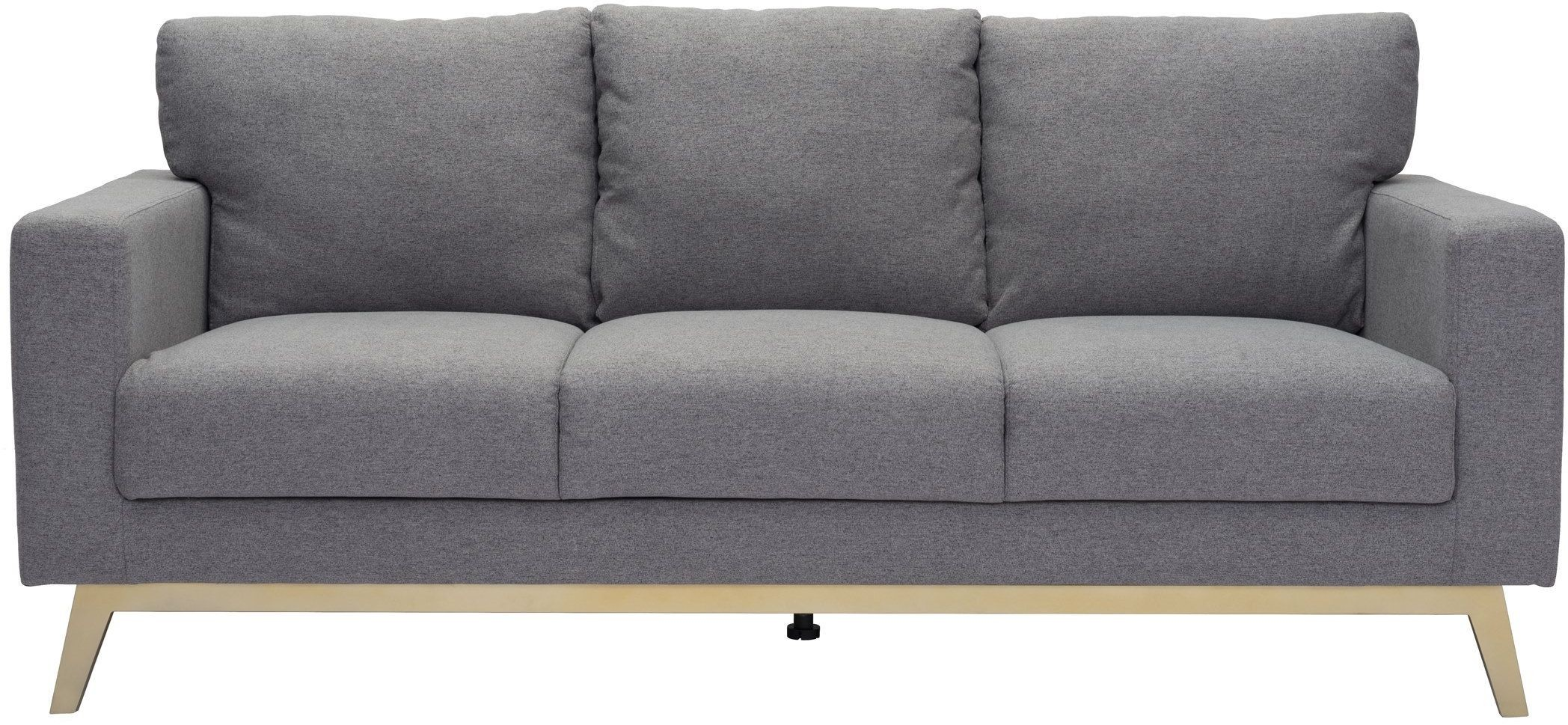 zuo modern didactic sofa light gray