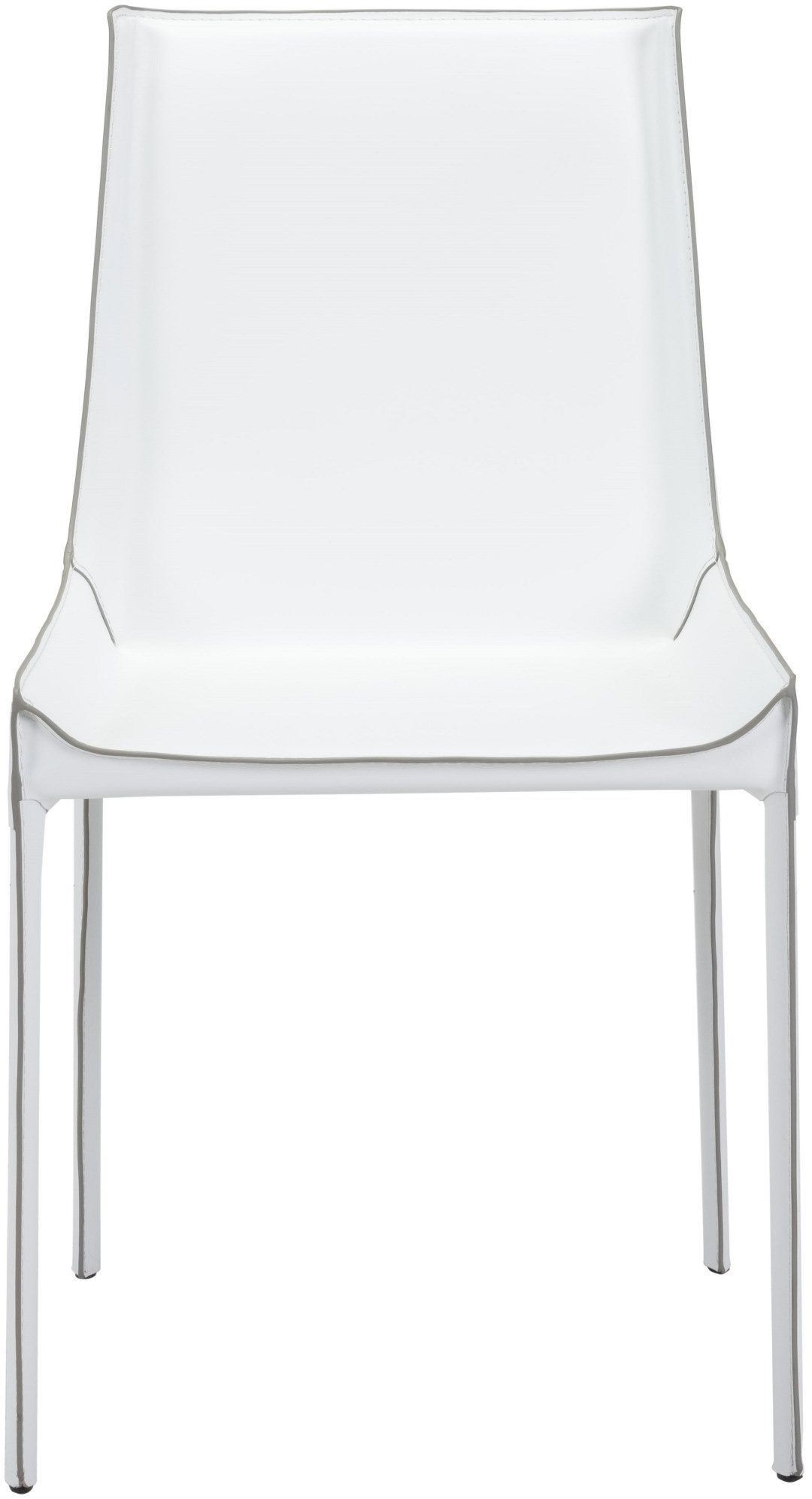 zuo fashion white dining chair
