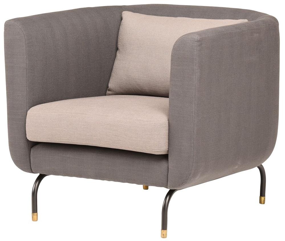 nuevo living gabriel single chair pewter grey charcoal grey