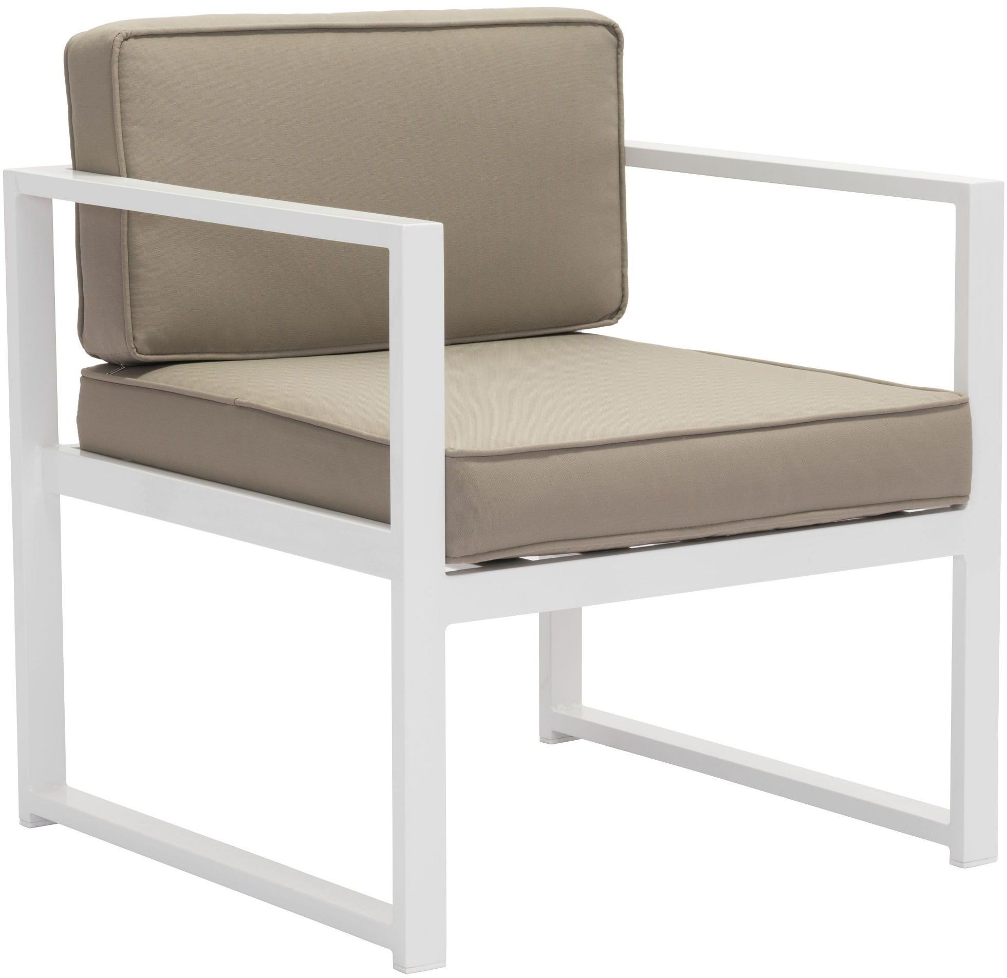 golden beach arm chair