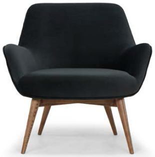 nuevo living gretchen occasional chair shadow grey