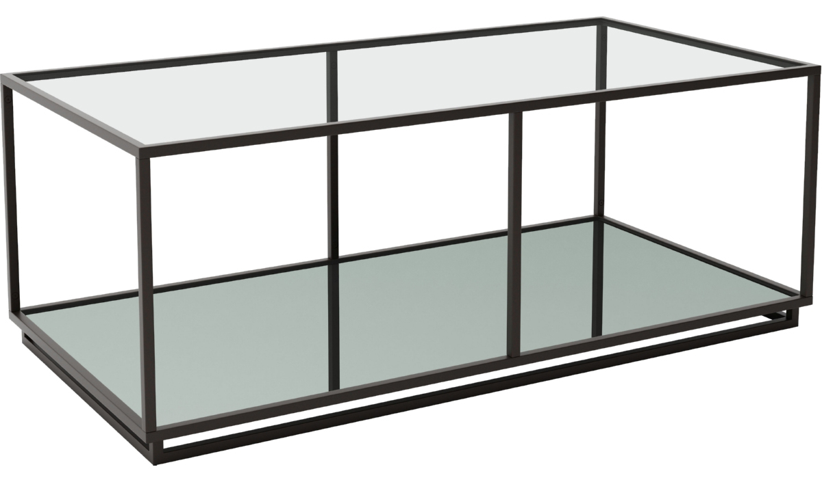 zuo modern kure coffee table distressed black